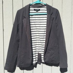 Forever 21 soft grey blazer
